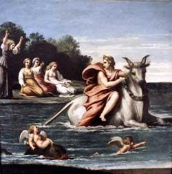 Μυθολογία Θάσου - Διάς και Ευρώπη