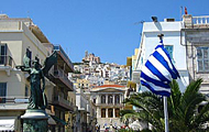 Greece,Greek Islands,Cyclades,Syros,Romanza Rooms