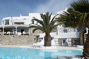 Palladium Hotel,Kiklades,Mikonos,Platis Gialos,with pool,bar,beach