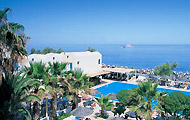 Kamari Beach Hotel,Santorini,Kamari,Cyclades,with pool,bar,Volcano