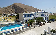 Villa Aretousa, Perissa, Santorini, Cyclades, Greek Islands, Greece Hotel