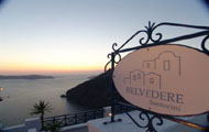 Greece,Greek Islands,Cyclades,Santorini,Fira,Belvedere Hotel