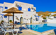 Mare Monte Hotel, Gialos, Ios, Cyclades, Greek Islands, Greece Hotel
