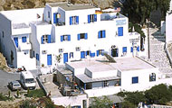 Greece, Greek Islands, Cyclades Islands, Ios, Pricess Sissy Hotel