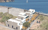 Dream Island Hotel, Livadia Tilos Island, Dodekanissa, Greek Islands, close to the beach