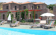 Greece, North Aegean, Lesvos, Molivos, Petra, Molivos Castle Hotel & Apartments
