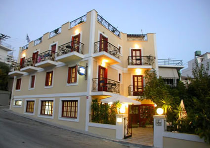 SAMOS,EMILY HOTEL,VATHI,GREEK ISLANDS