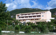 Greece, Ionian Islands, Corfu(Kerkyra), Paramonas Beach, Paramonas Hotel
