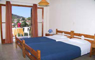 Greece, Greek Islands, Ionian Islands, Kefalonia, Assos Castle, Assos Beach, Pension Gerania