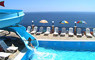 Greece, Ionian Islands, Zakynthos, Agios Nikolaos, Volimes, Hotel Blue Beach Bungalows, with pool