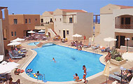 Silver Beach Hotel near the sea in a full of green area, Crete Hotels, Holidays in Crete Island Greece