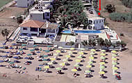 Happy Days Beach Hotel, Kavros Area, Georgioupoli, Kournas Beach, Chania Region, Crete Island, Holidays in Greek Islands, Greece