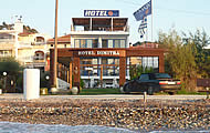 Dimitra Hotel, Tsoukaleika Beach, Patra City, Ahaia Region, Peloponnese, Holidays in Greece