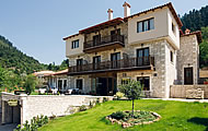 Oriades Hotel, Korishades Village, Karpenisi Town, Evritania Region, Holidays in Central Greece