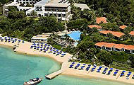 Greece, Macedonia, Halkidiki, Ouranoupolis, Eagles Palace Hotel