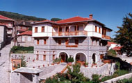 Greece, Epiros, Metsovo, Traditional Hotel, Hotel Adonis