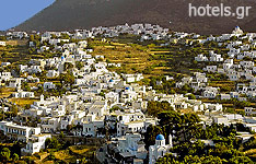 Apollonia Village in Sifnos Island