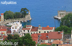 nafpaktos hotels and apartments Etoloakarnania central greece