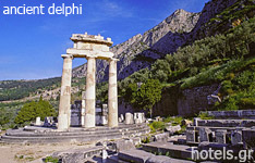 ancient delphi hotels and apartments Fokida central greece