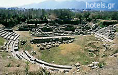 Laconia Archaeological Sites - Ancient Theatre of Sparta