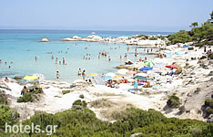 Macedonia Beaches - Kavourotrypes Beach (Sithonia, Chalkidiki)