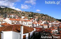 Arahova Viotia hotels and apartments central greece
