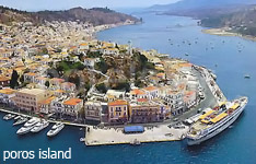 poros island hotels and apartments greek islands greece