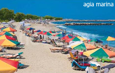 agia marina hotels and apartments crete island greece