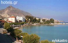 xylokastron hotels and apartments Peloponnese greece