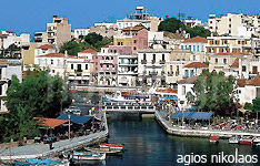 agios nikolaos hotels and apartments crete island greece