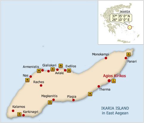 Ikaria Island Greece Awarded Island 2013