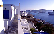 Greece, Greek Islands, Cyclades Island, Mykonos Island, Mykonos Town, Gorgona Hotel
