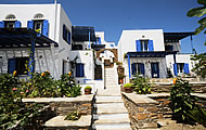 Karyatides Apartments, Karya, Tinos, Cyclades, Greek Islands, Greece Hotel
