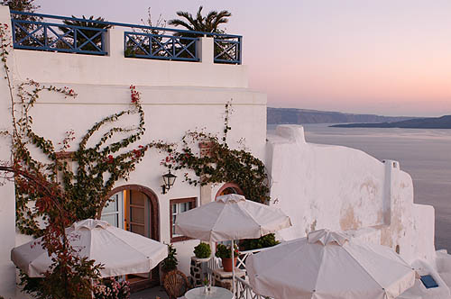Alexander Boutique hotel, Oia, Santorini, Cyclades, Greek Islands, Vulcano, Greece