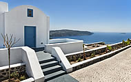 Thermes Luxury Villas, Megalochori Village, Caldera, Santorini Island, Cyclades Islands, Holidays in Greek Islands, Greece