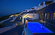 Carpe Diem Luxury Hotel, Pyrgos, Santorini, Cyclades, Greece Hotel