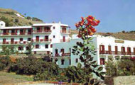 Kasteli Hotel,Patmos,Dodecanissa Islands,Greece,Beach,Sea,Panoramic View
