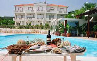 Villa Pouloudia Apartments, Vatera, Lesvos, Lesbos, Mytilini, Apartment, Beach, Sea, Sailing, Diving centre, Swimming pool