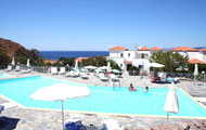 Akti Hotel, Mithymna, Mlivos, Lesvos, Mytilini, North Aegean Islands, Greek Islands, Greece, Swimming pool, Beach, Sea,