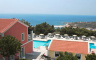 Greece, North Aegean, Samos, Pythagorion, Mykali Hotel, by the sea