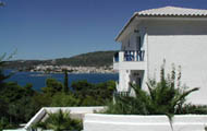 Greece,Greek Islands,Sporades,Skiathos,Pounda,Skiathos Panorama