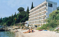 Greece, Greek Islands, Ionian Islands, Corfu, Perama, Pontikonissi Hotel