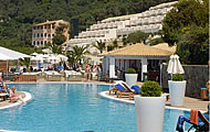 Aquis Pelekas Beach Hotel, Corfu, Ionian, Greek Islands, Greece Hotel