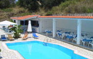 Greece, Ionian Islands, Lefkada, Geni, Vliho Bay, Vliho Bay Hotel, with pool
