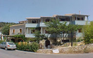 Greece, Greek Islands, Ionian Islands, Lefkada, Agios Nikitas, Averto Hotel