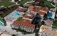 Greece, Ionian Islands, Zakynthos Island, Laganas, Alexander Hotel, with pool