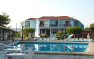 Greece, Ionian Islands, Zakynthos, Alykanas, Valais Hotel, with pool