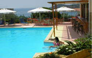 Greece, Greek Islands, Aegina, Agia Marina, Afea Hotel, with pool, close to the beach