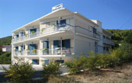 Greece, Saronic Islands, Aegina, Agia Marina, Marianna Studios, close to the beach