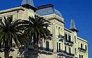Poseidonion Grand Hotel, Dapia, Harbour, Spetses Town, Spetses Island, Saronic Islands, Holidays in Greek Islands, Greece